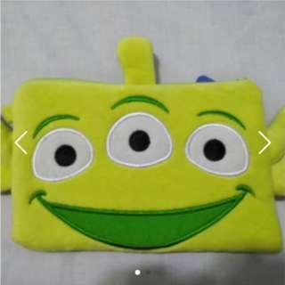 Disney Three Eyed Alien / Little Green Man Pouch