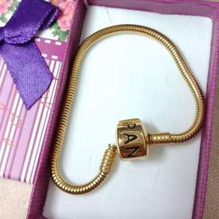 Pandora colier & 2pcs charm