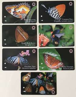 TransitLink Cards - Butterflies