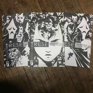 Trese Graphic Novels Set (Book 1-3)