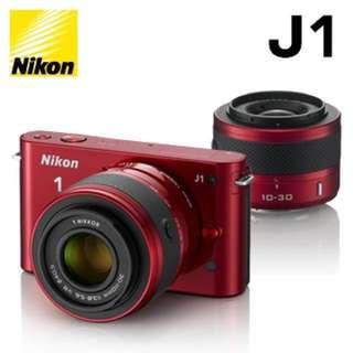 🚚 [二手]Nikon J1 紅色 (可議價)