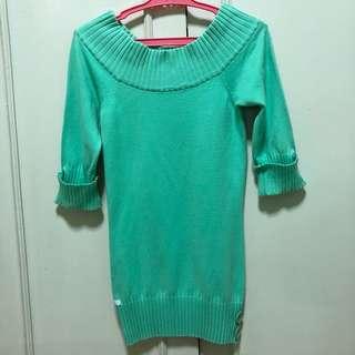 Kamiseta knitted 3/4 top