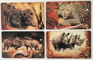 TransitLink Cards - Wildlife