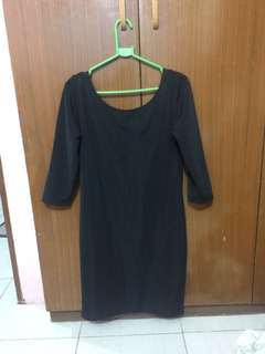 Penshoppe black dress