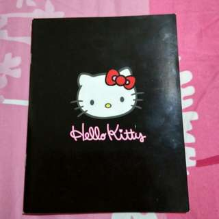 BN Hello Kitty Black Colour Lined Notebook