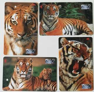 TransitLink Cards - Tigers