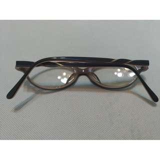 🚚 日本藍與褐框無度數眼鏡