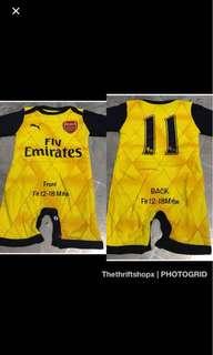 Arsenal FC Baby Romper Jersey