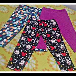 3 Girls Legging (6-7 yrs old)