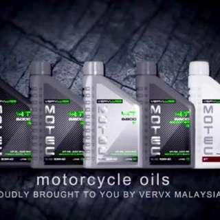 minyak moto dan kereta