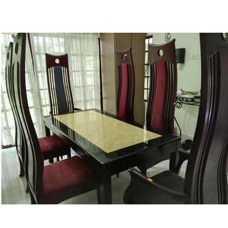 Customize Dinning Table Set