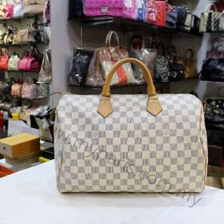 Louis Vuitton Damier Azur Speedy 35