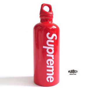 Authentic Supreme water bottle