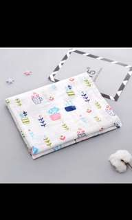 Baby Muslin Wrap / Blanket (available)