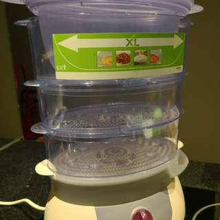 Philips Food Steamer - 4 pieces stackable in very good condition