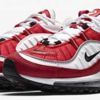 Gym Red 98's