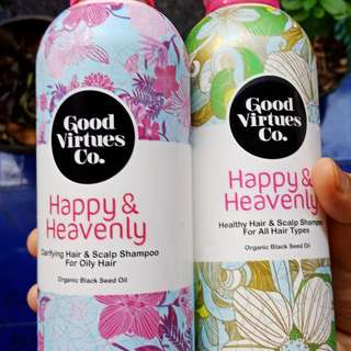 Good Virtues Co. Healthy Shampoo dan Oily Shampoo
