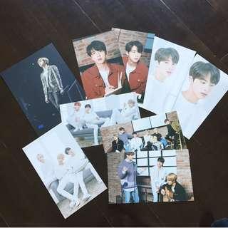 [大減價!!!] BTS THE WINGS TOUR IN SEOUL BLU-RAY postcard JIN