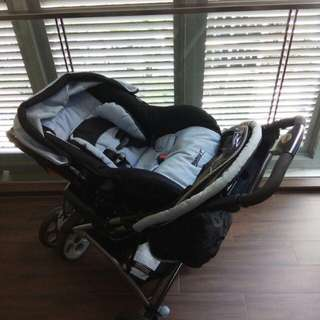 Geoby pram and car seat for sale