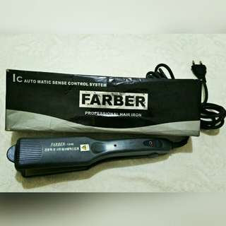 Hair Iron (Straightener/Catokan) FARBER 1248 BONUS Catok Sisir 95% New