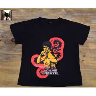 Bruce Lee, Black T-Shirt (Imported from Hong Kong)
