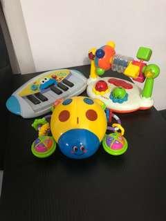 PL Toddler Toys Bundle (3pcs)
