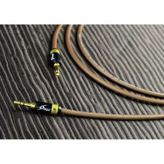 MPS X-5 series - 3.5mm Stereo Silver Plated Cables