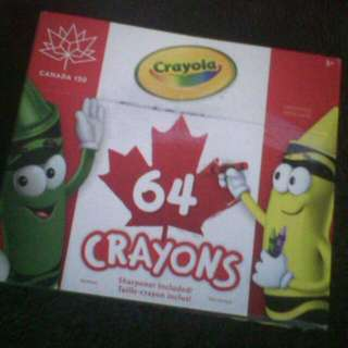 🆕Assorted Crayons From Canada.