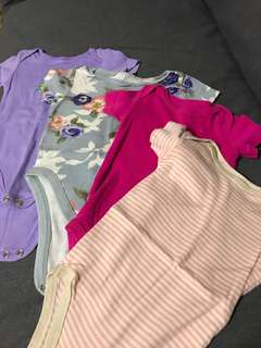 Romper 6-12 mos Bundle