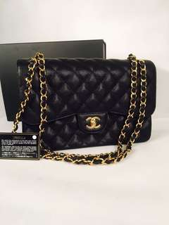 Authentic Chanel Maxi Classic Double Flap