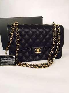 Authentic Chanel Maxi Classic Double Flap