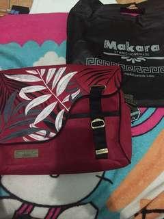 Makara bag maroon