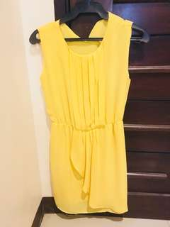 Yellow Summer Dress (Philosophy Women)