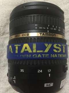 Tamron 17-50f2.8 vc canon mount