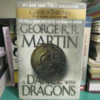 A Dance with Dragons (A song of ice and fore #5) George R. R. Martin