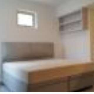 Master bedroom with attached master bathroom at Blk 838 Hougang Central