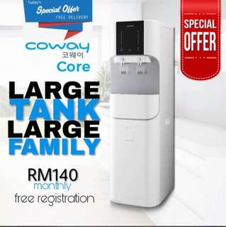 Penapis Air Coway free rm540