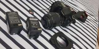 70D 公司貨 18-250SIGMA 32G高速SD卡 電池*3 座衝*2