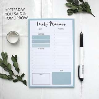 Daily Planner [Pre-order]