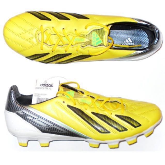 21ee923101e7 2012 F50 adizero Leather Adidas Football Boots HG, Sports, Sports ...