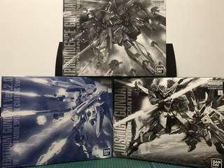 MG Gundam Justice + freedom + providence