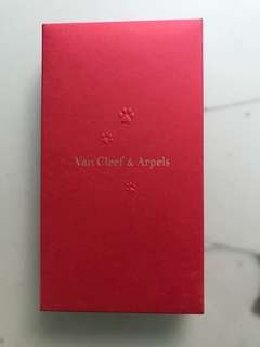 VCA vip van clef & arpels red pocket pack 紅色 利是封