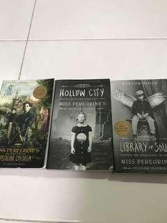 Books miss peregrine
