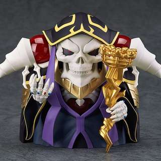 PRE-ORDER : Good Smile Company Nendoroid 631 - Ainz Ooal Gown (Reissue)