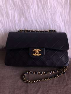 Authentic Chanel classic bag with 24K Gold Hardware