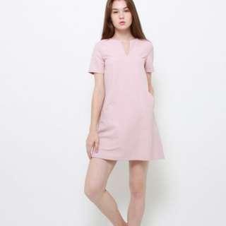 Karel minimalist midi dress