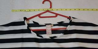 Authentic Shapes Black and White Stripes