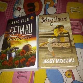 Novel Melayu 1.Bahang Asmara by Jessy Mojuru 2. Setiaku Milikmu by Luvis Eija