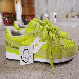 Saucony Shadow Original Shoes (Green)