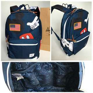 Herschel Mickey Mouse Design Settlement Backpack Navy